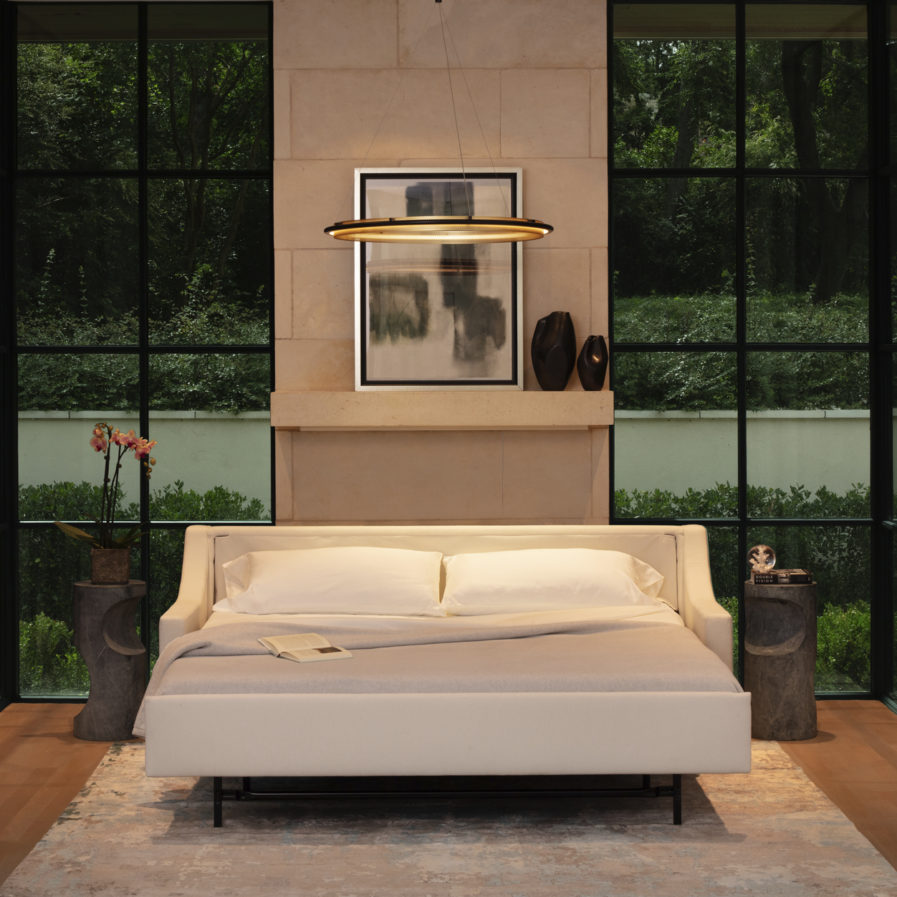 American Leather Perry Comfort Sleeper-open