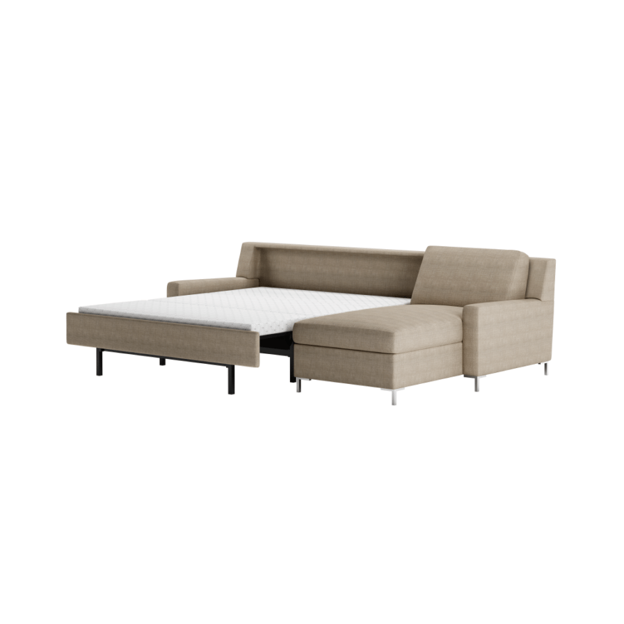 American Leather Comfort Sleeper-Bryson-Sectional-Open
