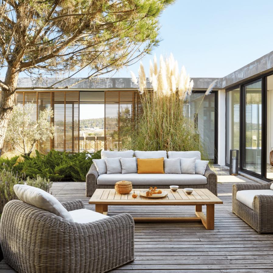 Manutti River sofa and lounge chair