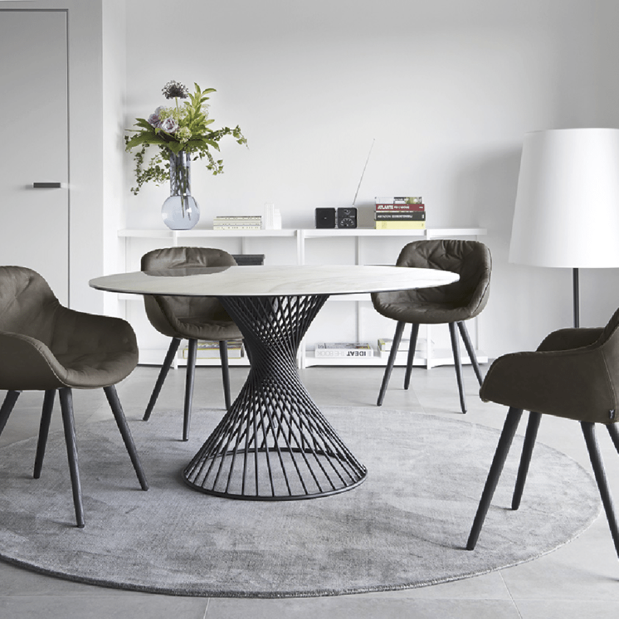 Calligaris VORTEX TABLE_IGLOO SOFT CHAIR