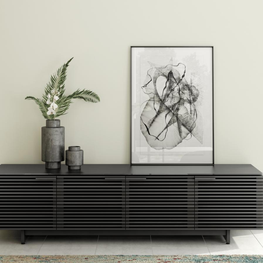 BDI corridor-8173-modern-TV-cabinet-charcoal-BDI-2