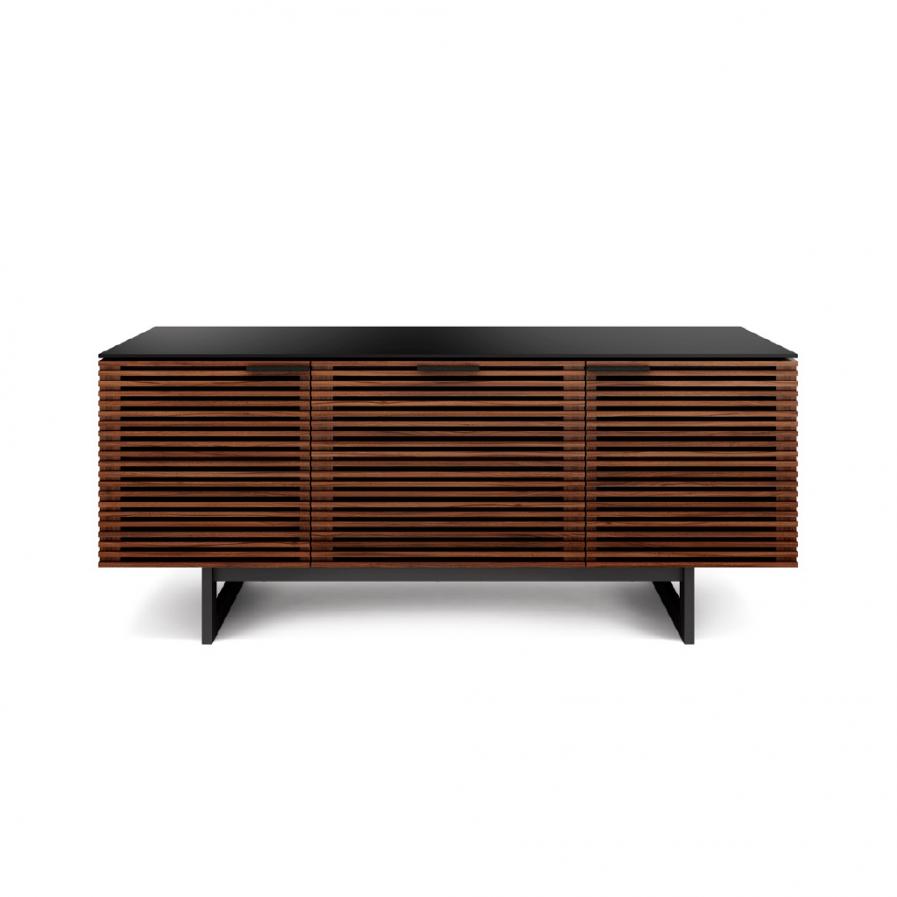 BDI corridor-8177-home-theater-cabinet-soundbar-chocolate-walnut-no-prop-1