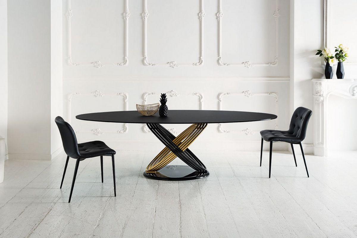 Bontempi Fusion table, Kuga chair