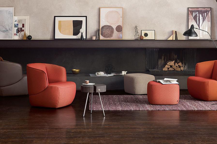 Rolf Benz 384 armchair