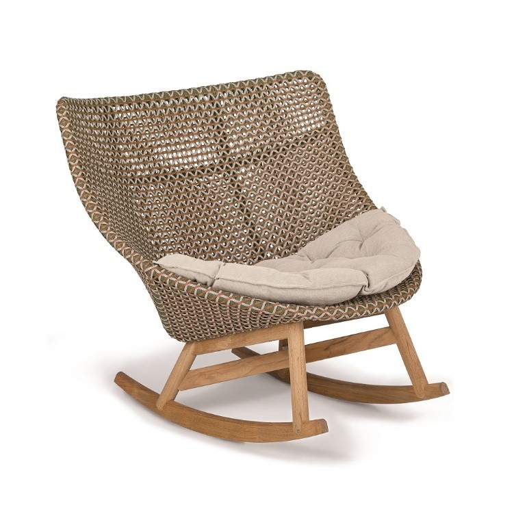 DEDON_MBRACE_Rocking_chair_chestnut