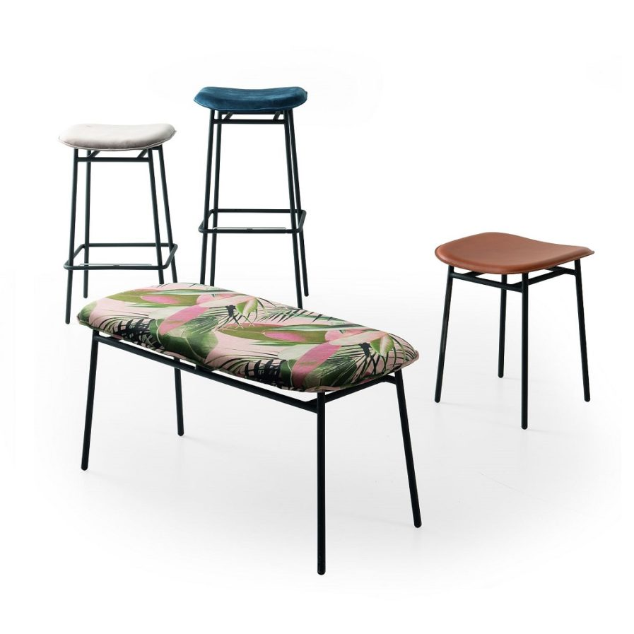 calligaris_Fifties_backless stool_family