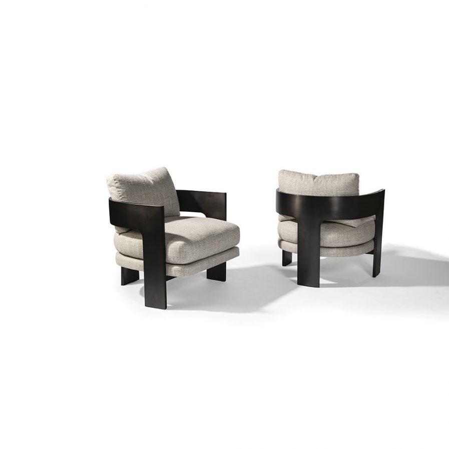 Thayer Coggin On 3 1429-103-DB Lounge Chair