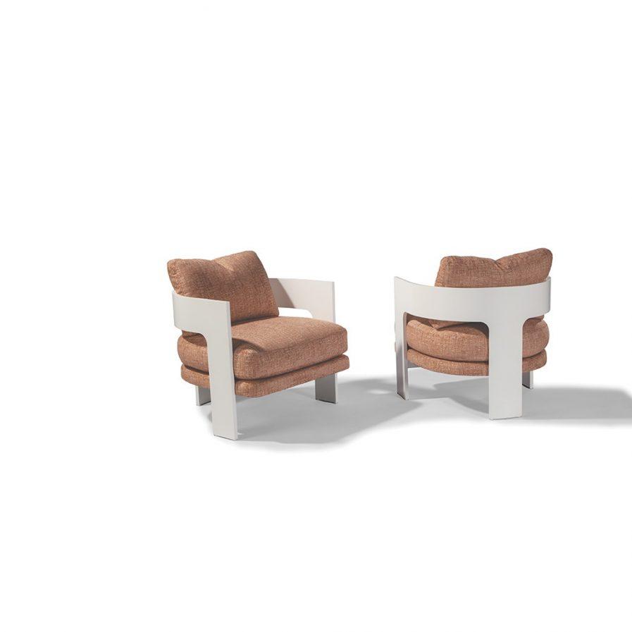 Thayer Coggin On 3 1429-103 Lounge Chair