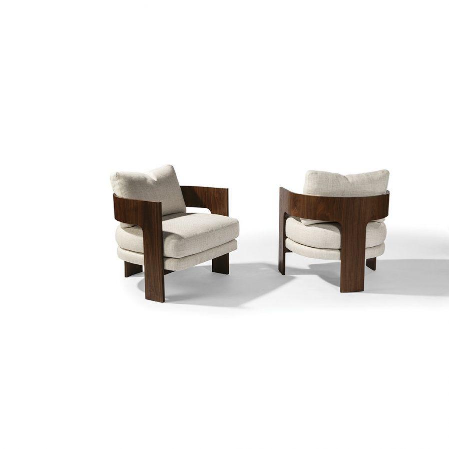 Thayer Coggin On 3 1429-103-W Lounge Chair