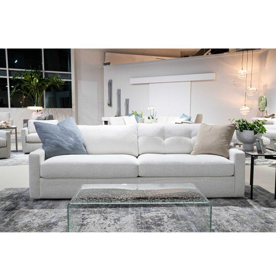 American Leather Doran sofa-Dakota Creame