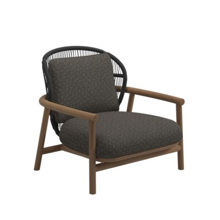 Gloster Fern-Low-Back-Lounge-Chair-Meteor-Raven