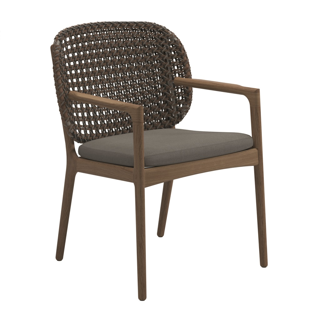 Kay Dining Chair With Arms Ginger Jar Furniture