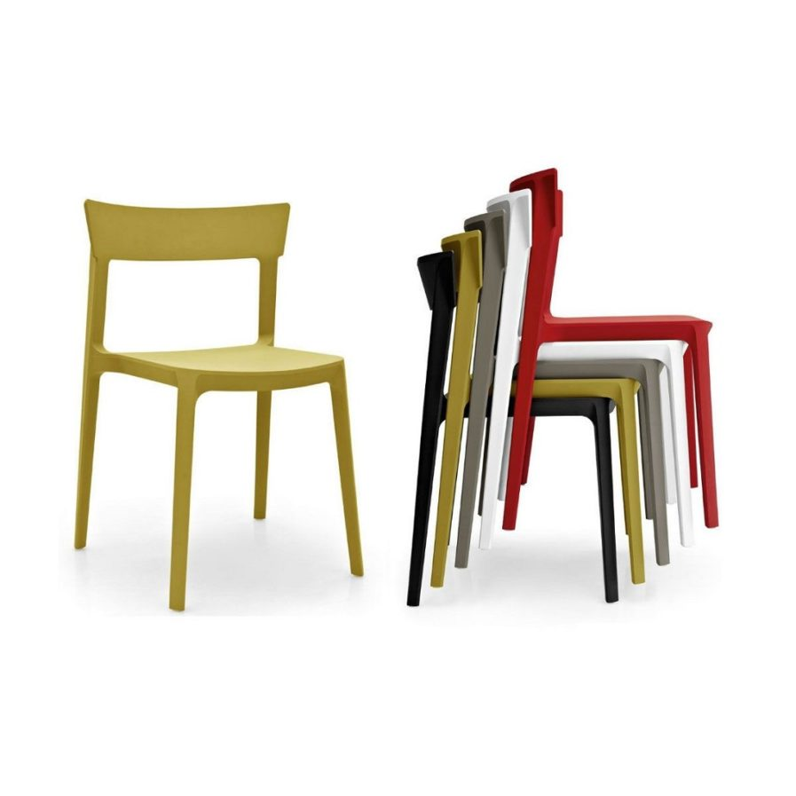 Calligaris_skin_chair_stacking