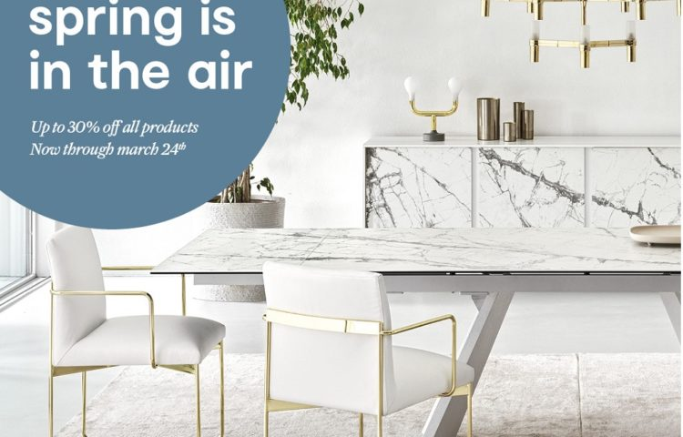 Calligaris Spring_is_in_the_air_promotion_30% off